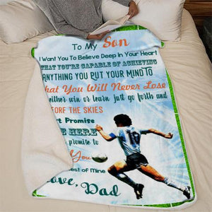 Christmas discount 50% - In memory of Diego Armando Maradona- Blanket