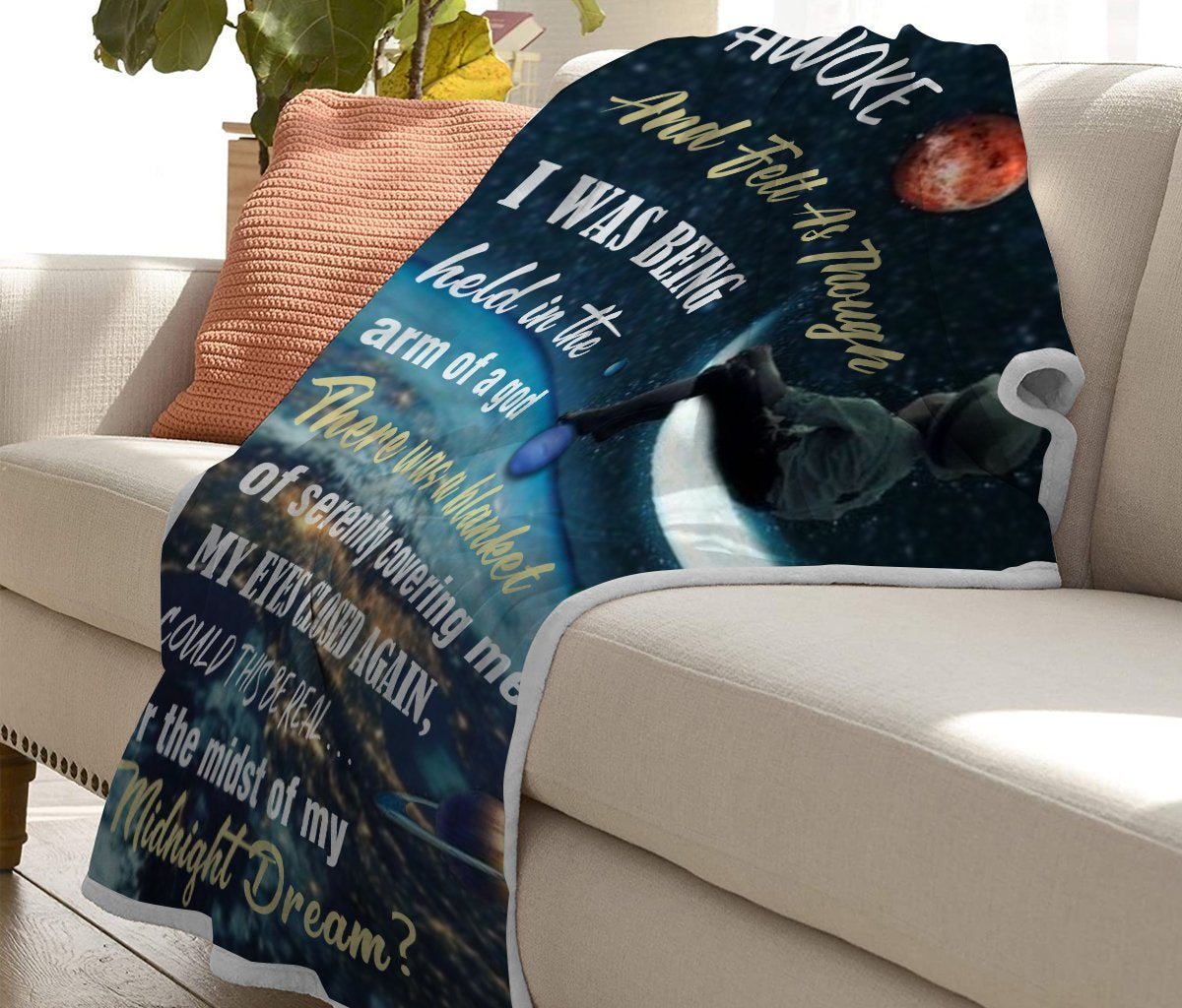 Christmas discount 50% - Baby you have a good dream at night - Blanket
