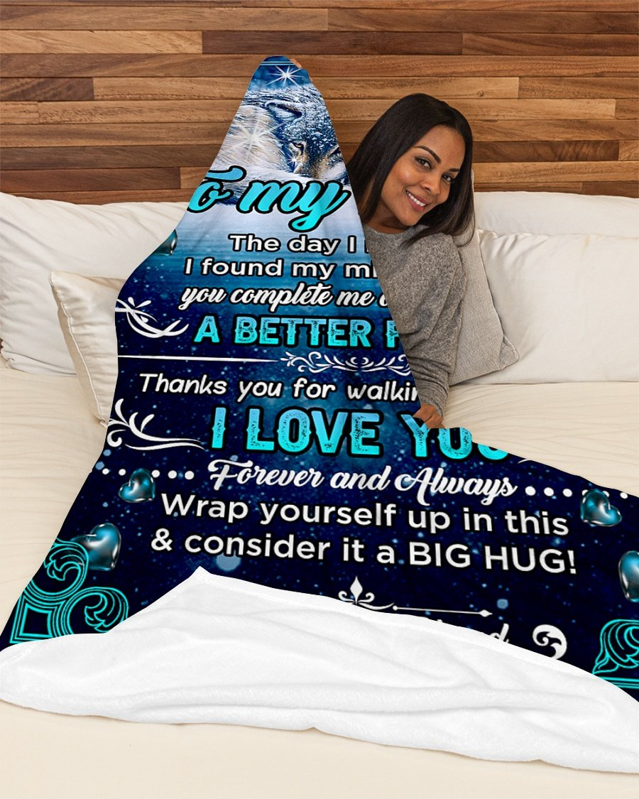 Christmas limited time discount 50% - Husband To Wife - I Love You - Blanket