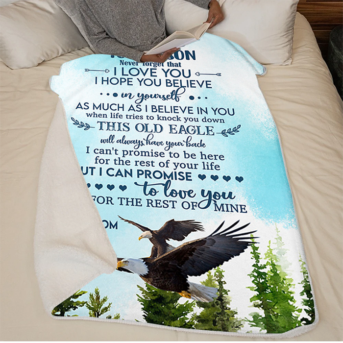 50% OFF Best Gift-To My Son, believe in yourself - Blanket
