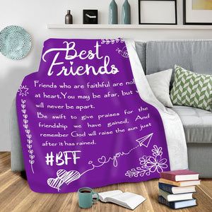 50% OFF Best Gift - BEST FRIEND GIFTS THEY'LL LOVE - Blanket