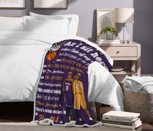 Black Friday limited time discount 50% - Memorial Kobe Bean Bryant Blanket