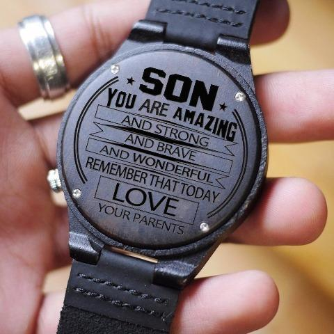 PARENTS & SON - YOU ARE AMAZING