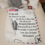50%OFF Best Gift - Husband To Wife  - Blanket