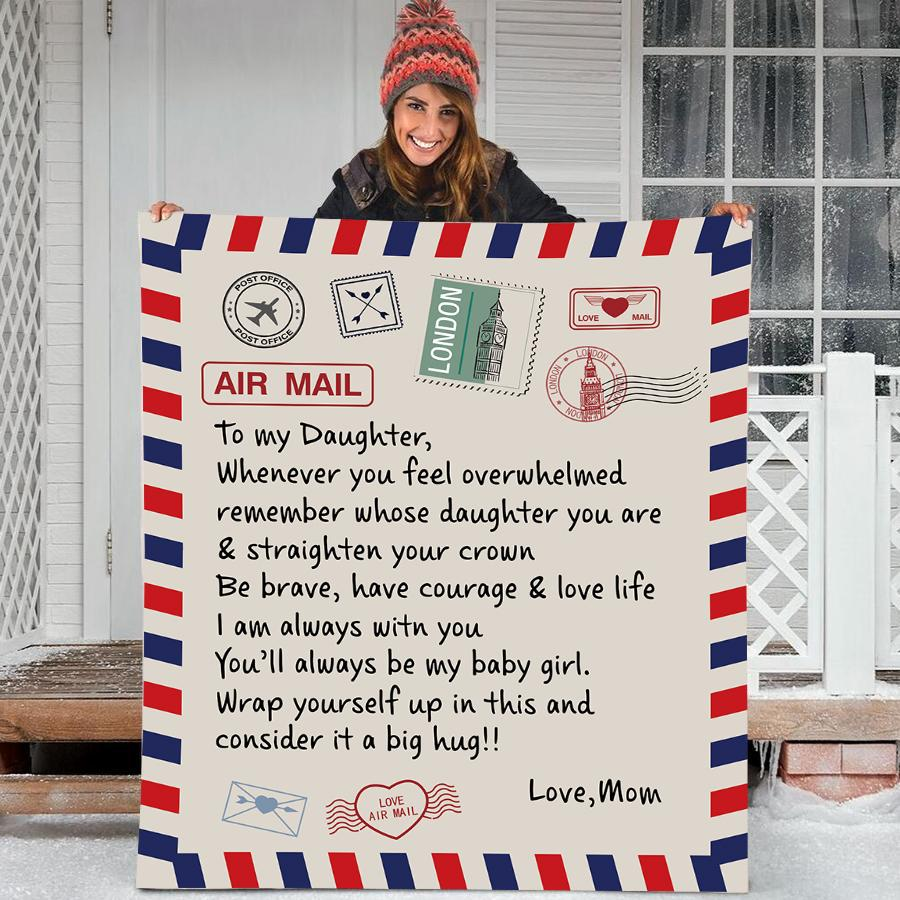 50% OFF Best Gift-To my Daughter Blanket