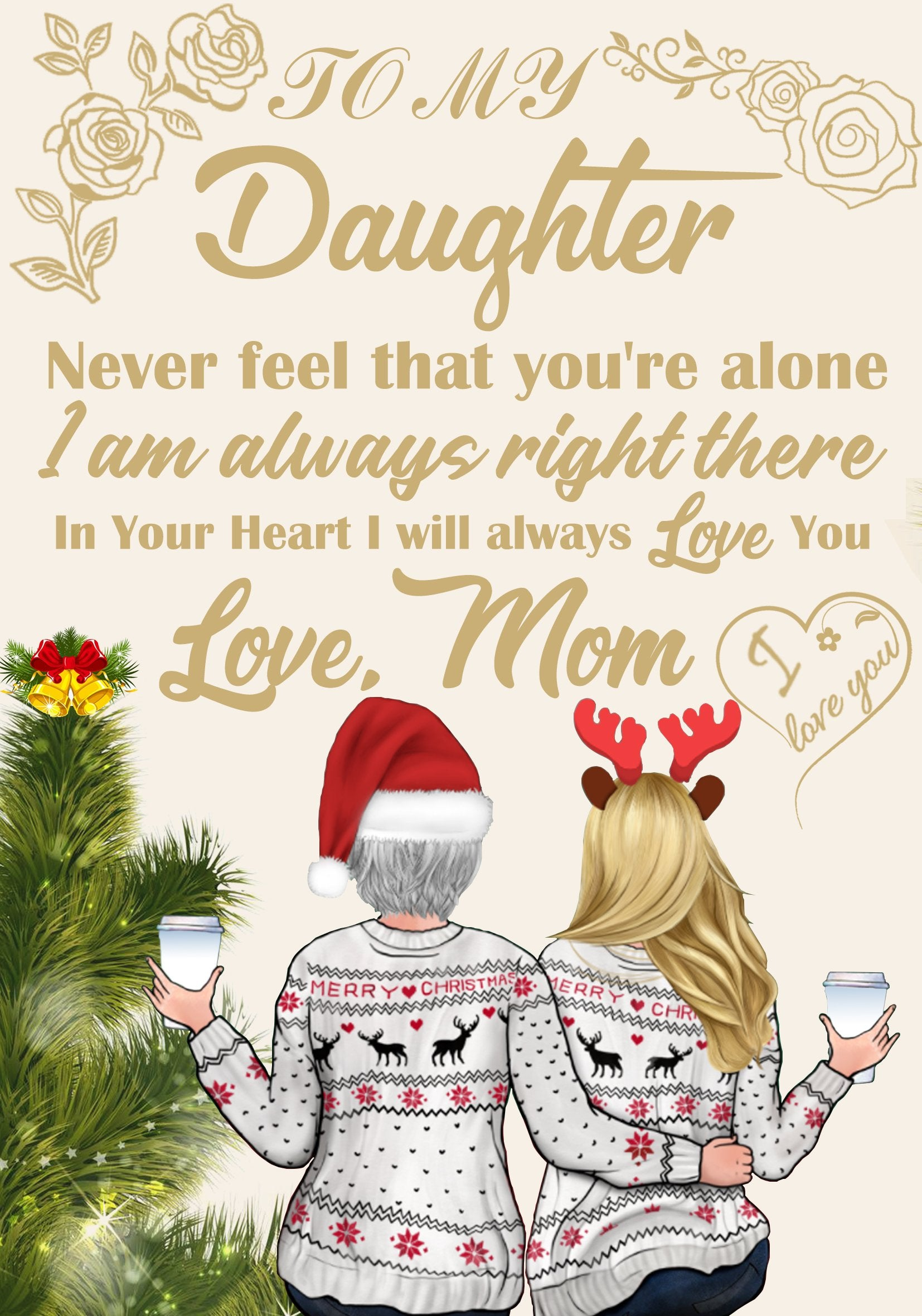 Black Friday limited time discount 50%-To my Daughter In Your Heart I will always love you - Blanket