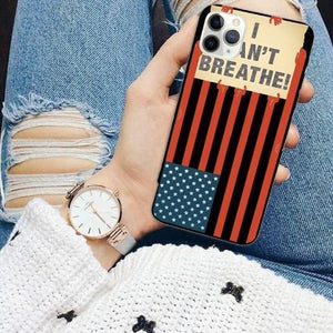 Phone Protective Case - I CAN'T BREATHE