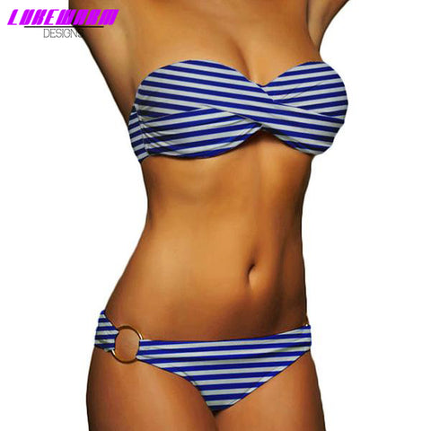 Occidental Push Up Bikini - Lukewarm Designs