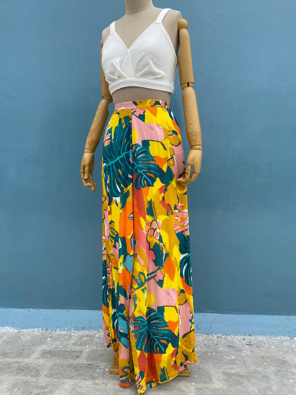 Jungle Print Pants