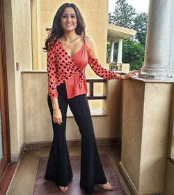 Black Bell Bottoms - Mitaliwadhwa