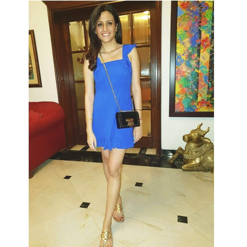 Sleeveless Frill Dress - Mitaliwadhwa