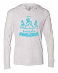 Frosty the Swoleman Light Weight Hoodie