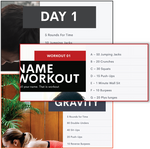 Support The Gyms - At Home Workouts ($1,000 Donation)