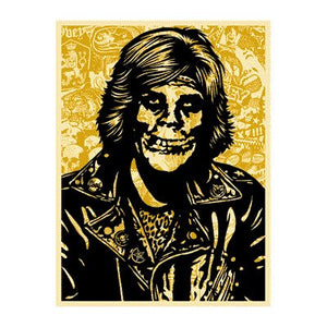 Shepard Fairey 'Fiend Rocker Yellow'