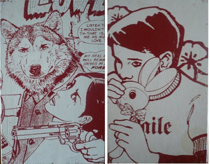Faile 'NYC Box 85' Lazarides Provenance