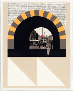 Evan Hecox - Screen Print 'London Tunnel'