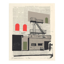 Load image into Gallery viewer, Evan Hecox Screen Print 'Navy Yard Lounge'