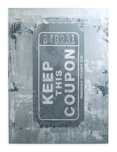 ASVP - Keep This Coupon - Future Cop Silver (Canvas)