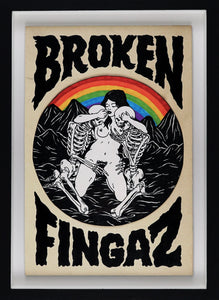 UNGA - Broken Fingaz - Rainbow Picnic
