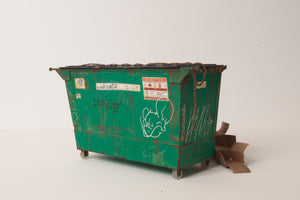 Drew Leshko - South Philadelphia Pretzel Company Dumpster with trash