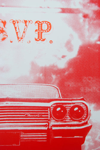ASVP - CAR (Red / Orange)