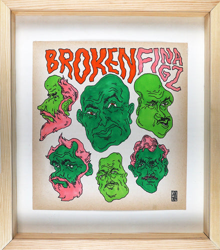 UNGA - Broken Fingaz - Melting Faces