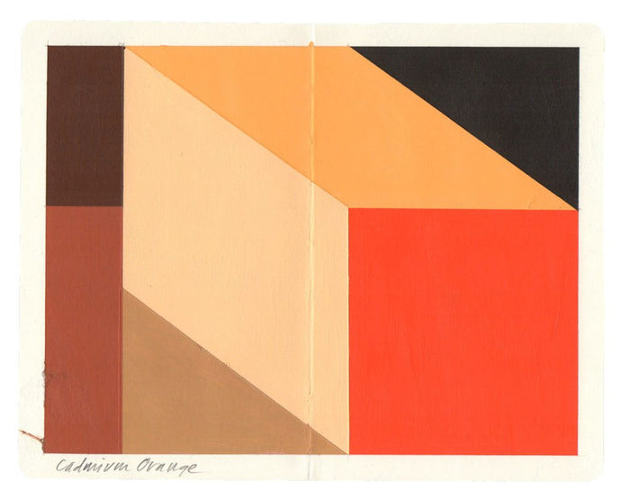 Mary Iverson - Cadmium Orange