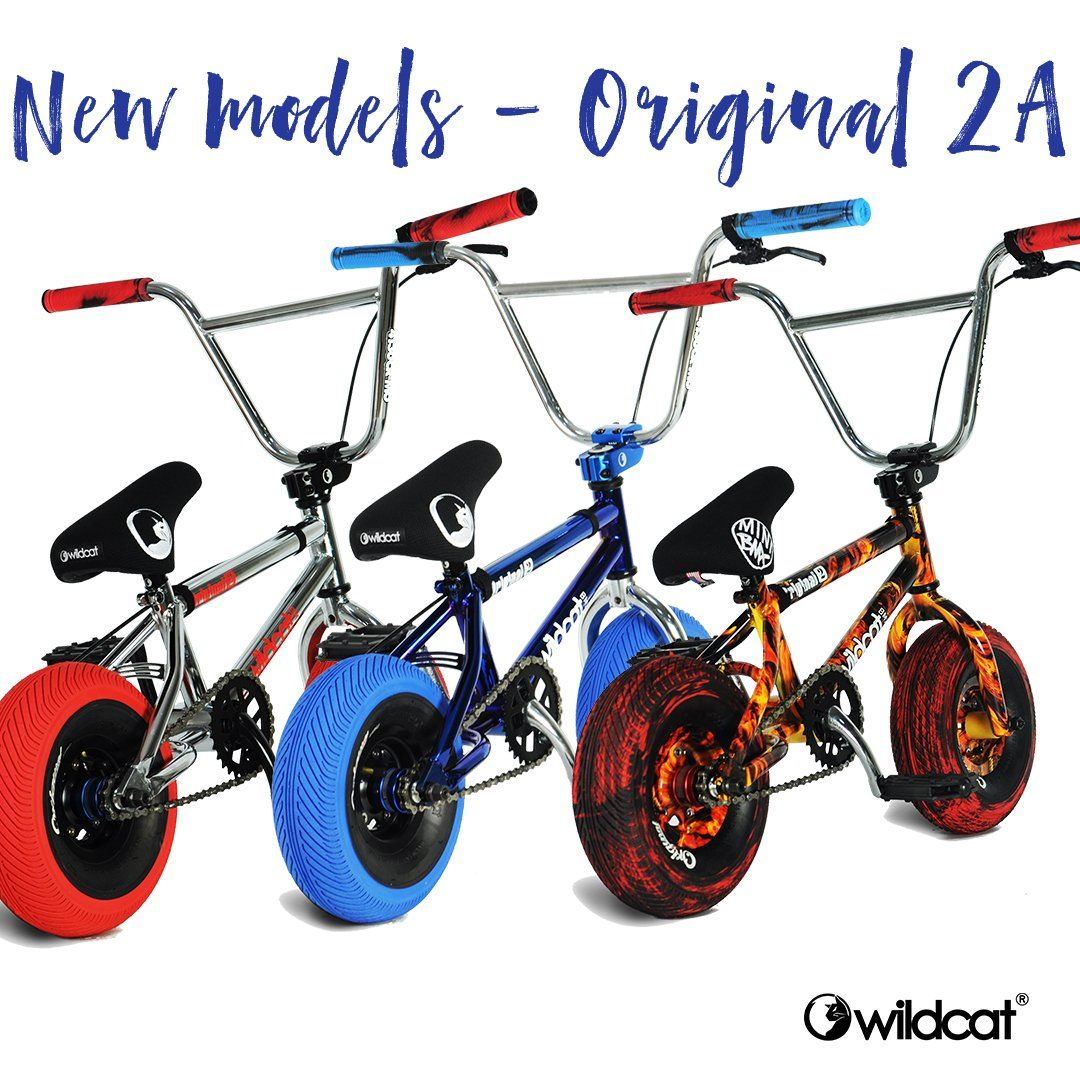 New Wildcat Mini BMX models released
