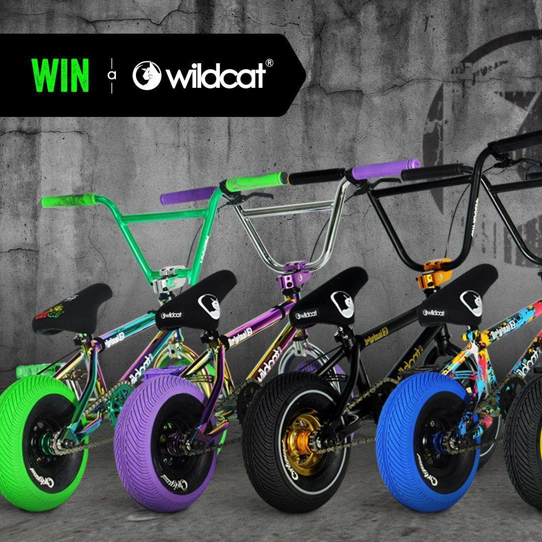 Pre-order and win a Wildcat Mini BMX