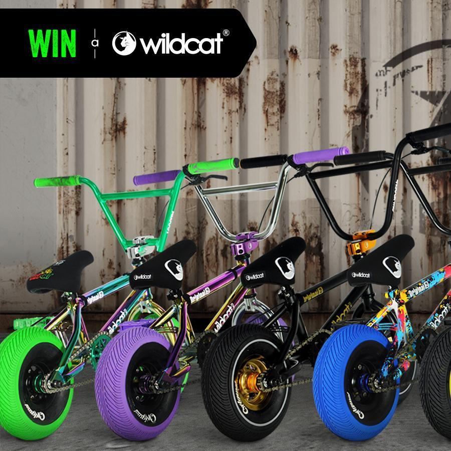 Now shipping - Order and WIN a Wildcat Mini BMX