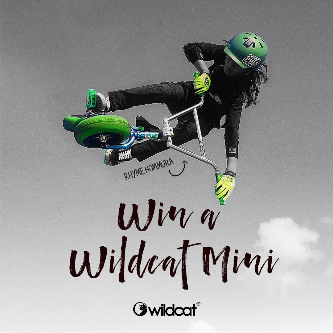 Win a Wildcat Mini BMX Pro Series. Enter before 30 Sept