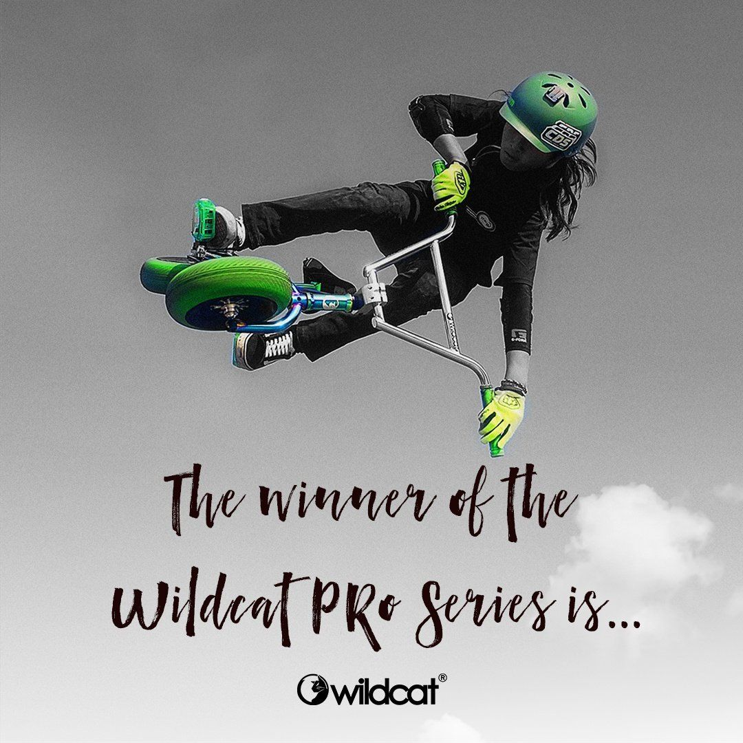 The winner of the Wildcat Mini BMX Pro Series is....