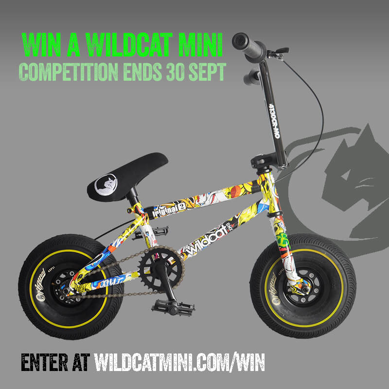 Win a Wildcat Mini BMX Original 2A Crazy Boy