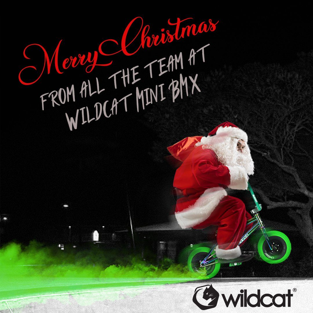 Merry Christmas from the team at Wildcat Mini BMX