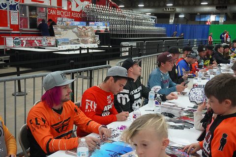 Wildcat Mini BMX & USA BMX Pro Autograph Session Grand Nationals 2019