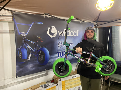 Anthony Bucardo shreds on a Wildcat Mini BMX