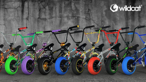 Wildcat Mini BMX | View the full range of BMX Mini Bikes