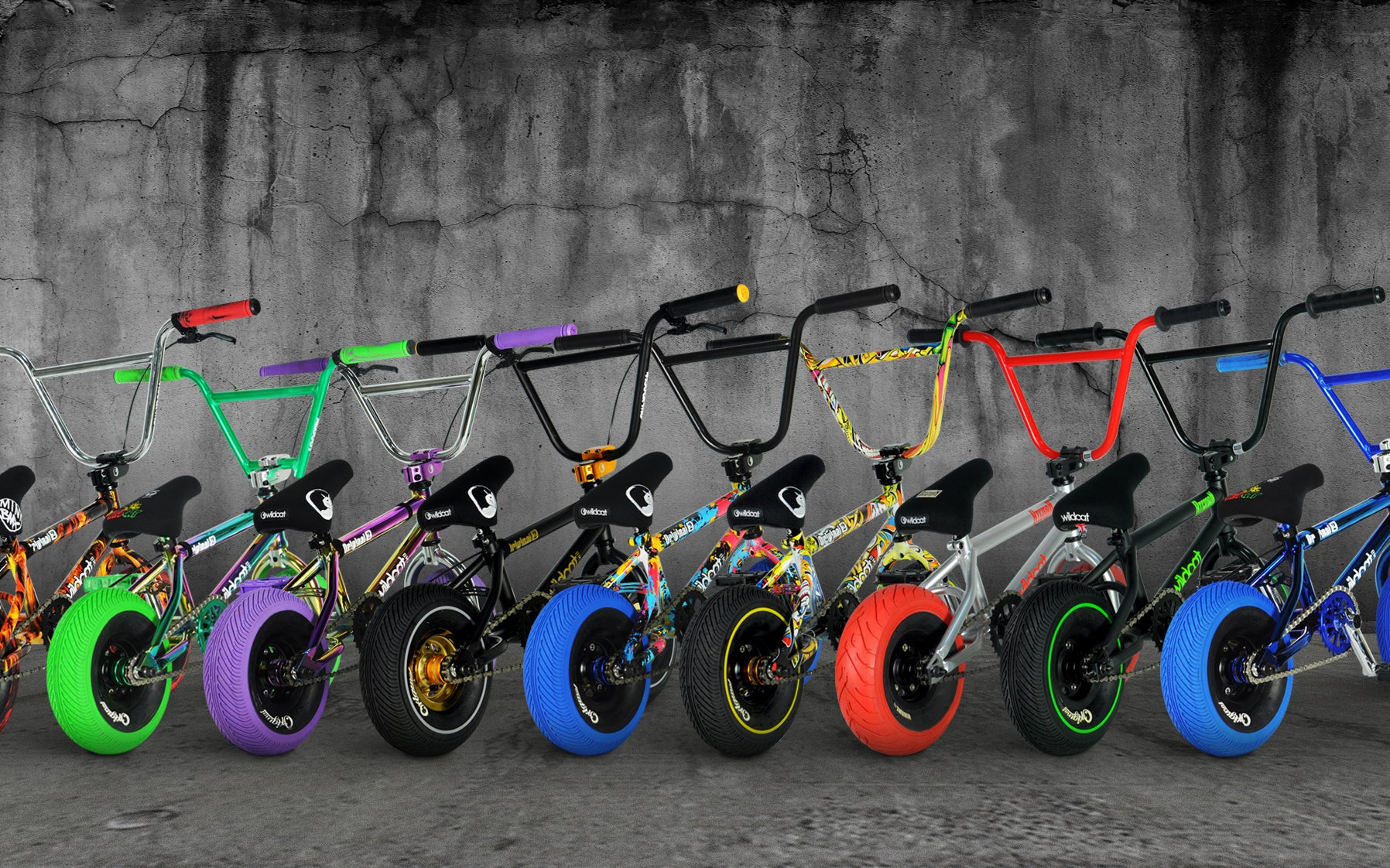Mini BMX bikes by Wildcat | Best BMX Mini stunt bike | Free shipping USA