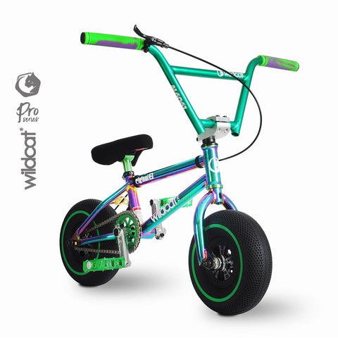 Wildcat Mini BMX Pro Series Joker Green