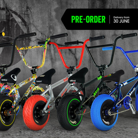 Pre-order a WIldcat Mini BMX to win