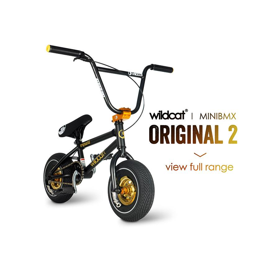 Wildcat Mini BMX bike | Original 2 BMX Mini | Best BMX Mini | Free shipping | Built for bigger things | Best Mini Rocker