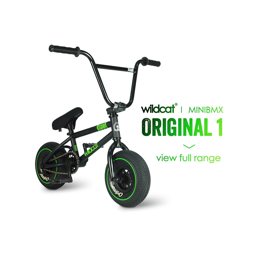 Wildcat Mini BMX bike | Original 1 | Best BMX Mini | Free shipping | Built for bigger things | Best Mini Rocker