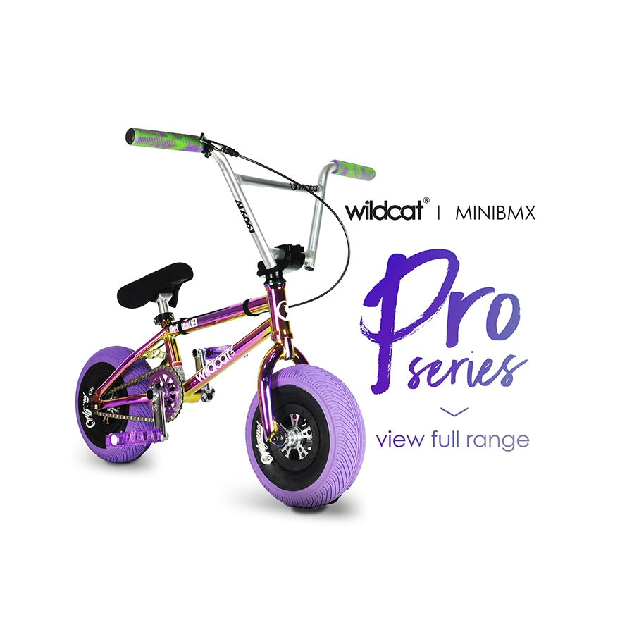 Wildcat Mini BMX bike | Pro Series Turbo Wheel | Best BMX Mini | Free shipping | Built for bigger things | Best Mini Rocker
