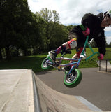 Mitch Hutchinson riding a Wildcat Mini BMX