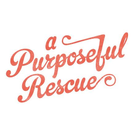 A Donation to a Purposeful Rescue