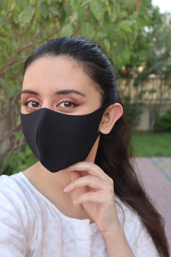 Plain Black mask