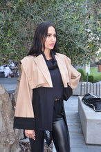 Womens Waist Length Trench Coat