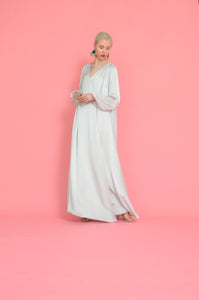 Full length, Full Sleeved Luxe Texured Wrap Robe