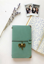 light blue journal
