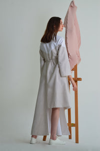 Nura Asymmetrical Smock Dress